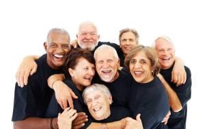 Group of older folks