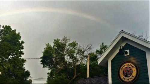 fifthstreetbrewpub rainbow pic